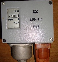 Датчик-реле давления ДЕМ-118
