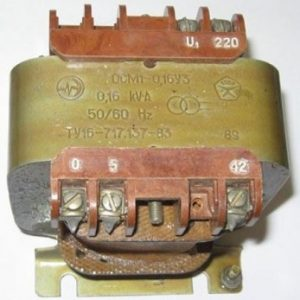 Трансформатор ОСМ1-0,16