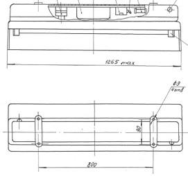 СС-127 светильник судовой