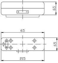 СС-190 светильник судовой