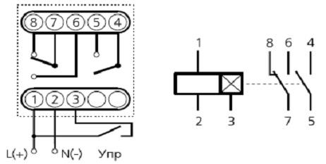 ВЛ-42М1 схема электрическая