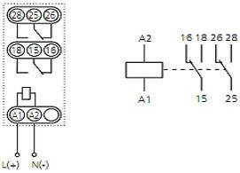 Реле времени ВЛ-46М1 схема подключения