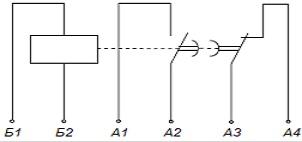Реле времени ВЛ-50, ВЛ-51, ВЛ-52 схема подключения