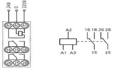 Реле времени ВЛ-61М схема подключения