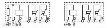 Реле времени ВЛ-64 схема подключения