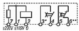 Реле времени ВЛ-65 схема подключения