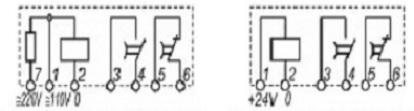 Реле времени ВЛ-68 схема подключения