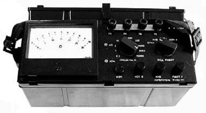 Ф4103-М1 — измеритель сопротивления заземлений