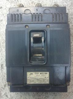 WIS-100 выключатель автоматический
