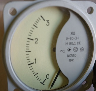 Показывающий прибор к СДК-60 ХЩ И-60-3-1 (03 м.вод.ст)
