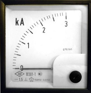 Амперметр М381-1