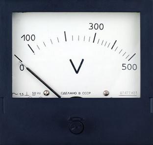 Вольтметр Э365