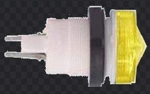 АМЕ-324221 арматура светосигнальная желтая